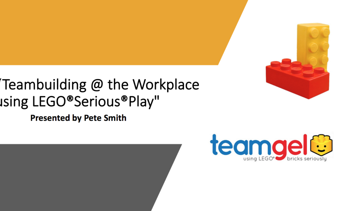 Teambuilding at the workplace using LEGO® Serious® Play